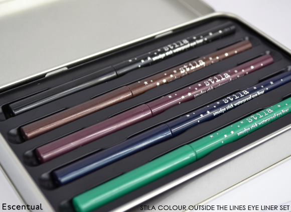 Stila Colour Outside the Lines Smudge Stick Waterproof Eye Liner Set 2