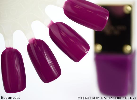 Michael Kors Nail Lacquer in Envy
