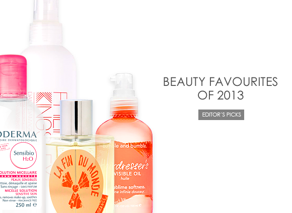 Beauty Favourites of 2013