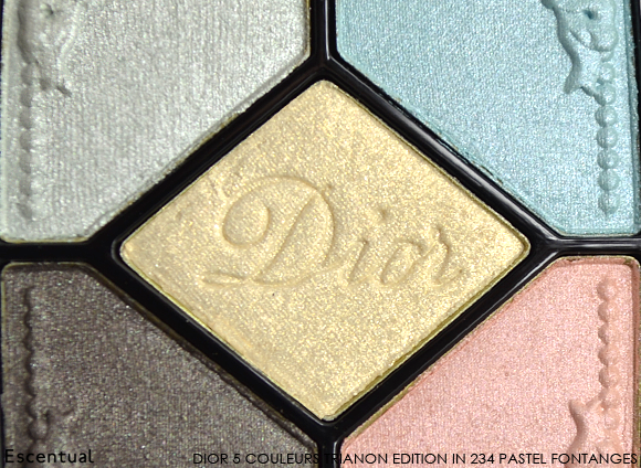 Dior 5 Couleurs Trianon Edition in 234 Pastel Fontanges