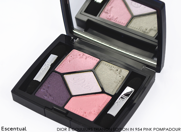Dior 5 Couleurs Trianon Edition in 954 Pink Pompadour