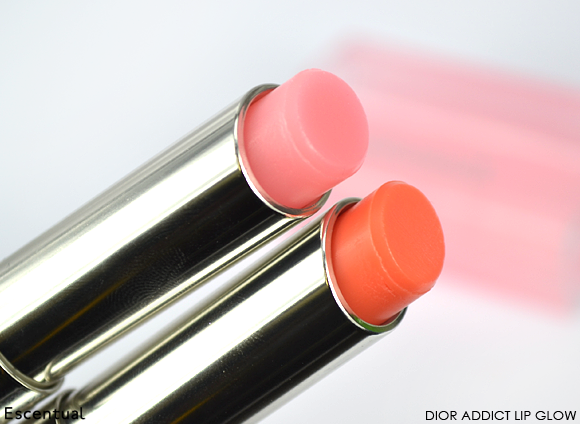 Dior Addict Lip Glow Reviver Balm in 001 Pink and 004 Coral
