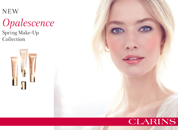Clarins Opalescence Spring Look
