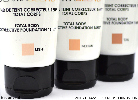 Vichy Dermablend Body Foundation Close