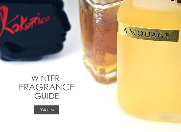 Winter Fragrance Guide for Him