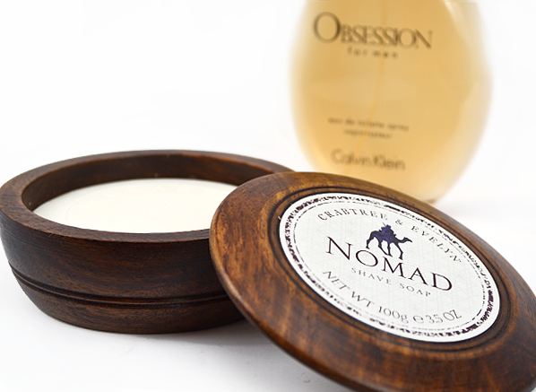 Crabtree Nomad Shave Soap and Obsession