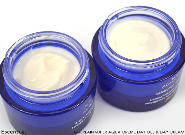 Guerlain Super Aqua Creme Day Gel and Day Cream