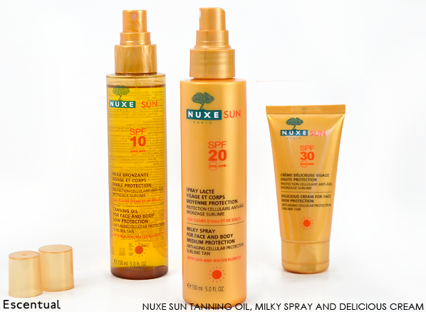 Nuxe Tanning Oil - Milky Spray - Delicious Cream
