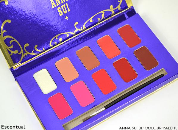 Anna Sui Lip Colour Palette