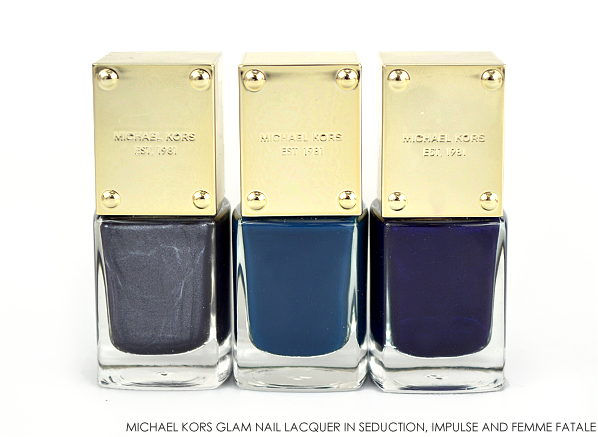 Michael Kors Glam Nail Lacquer in Seduction Impulse Femme Fatale