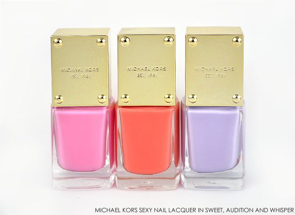 Michael Kors Sexy Nail Lacquer in Sweet Audition Whisper