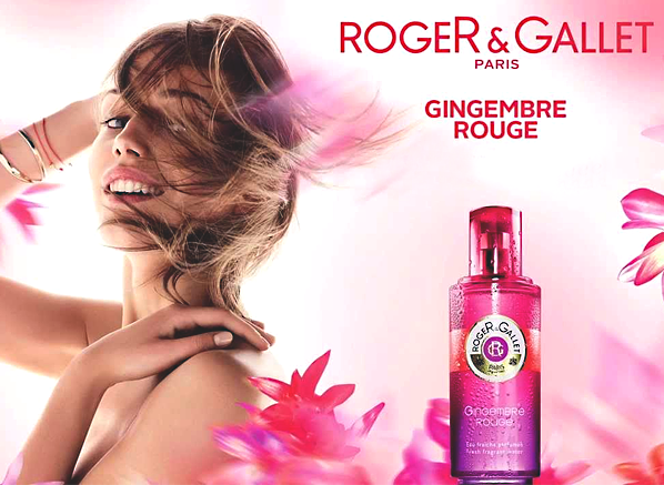 Roger and Gallet Gingembre Rouge Banner