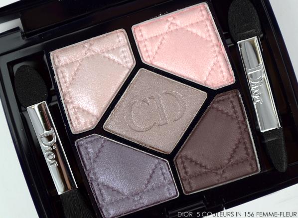 Dior 5 Couleurs Eyeshadow Palette in 156 Femme-Fleur