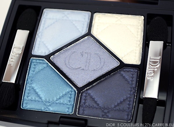 Dior 5 Couleurs Eyeshadow Palette in 276 Carre Bleu