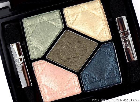 Dior 5 Couleurs Eyeshadow Palette in 456 Jardin