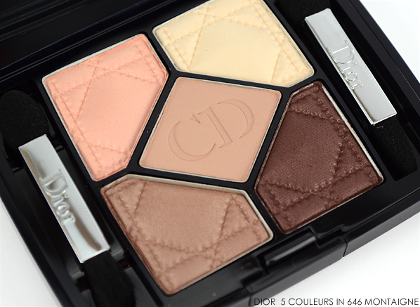 Dior 5 Couleurs Eyeshadow Palette in 646 Montaigne