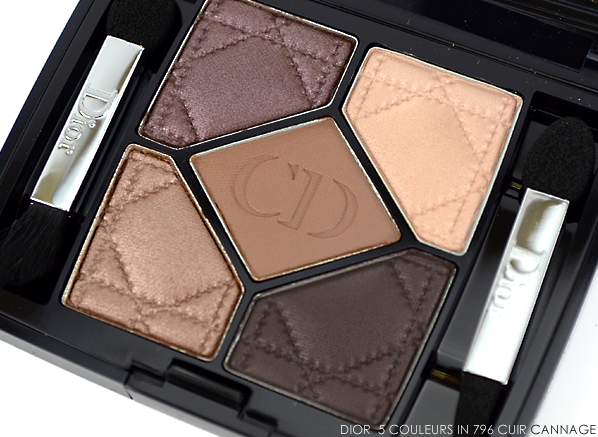 Dior 5 Couleurs Eyeshadow Palette in 796 Cuir Cannage