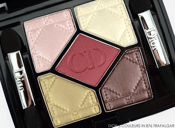 Dior 5 Couleurs Eyeshadow Palette in 876 Trafalgar