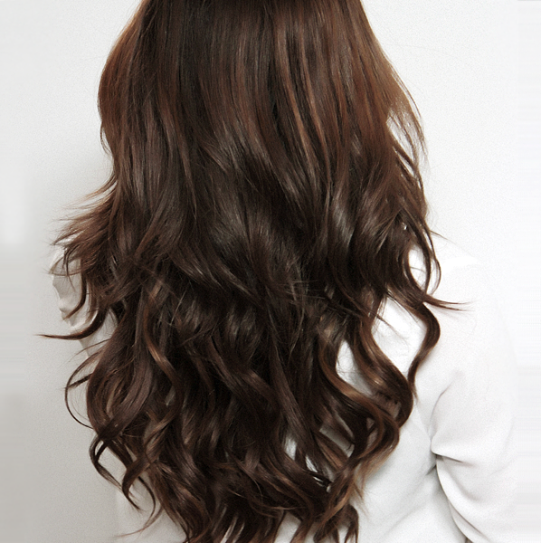 Binky Hollywood Hair - back