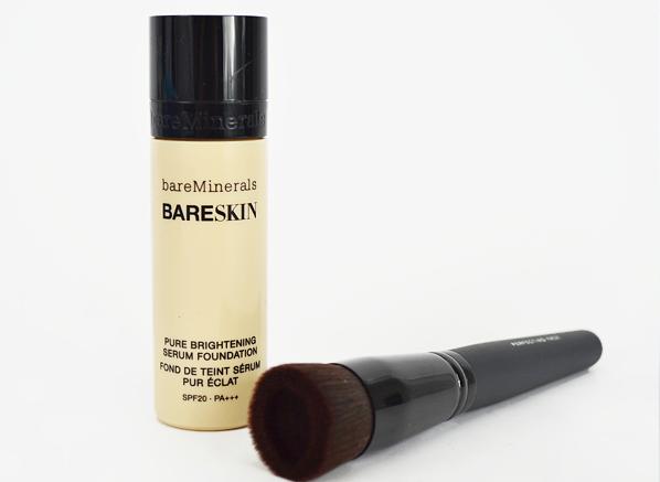 bareMinerals BareSkin Foundation and Brush