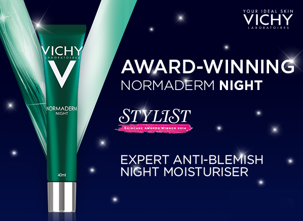 Vichy Normaderm Night Banner