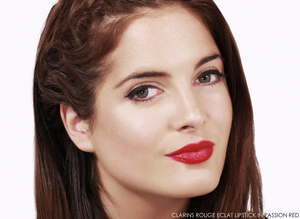Clarins Rouge Eclat Lipstick - Passion Red - Binky