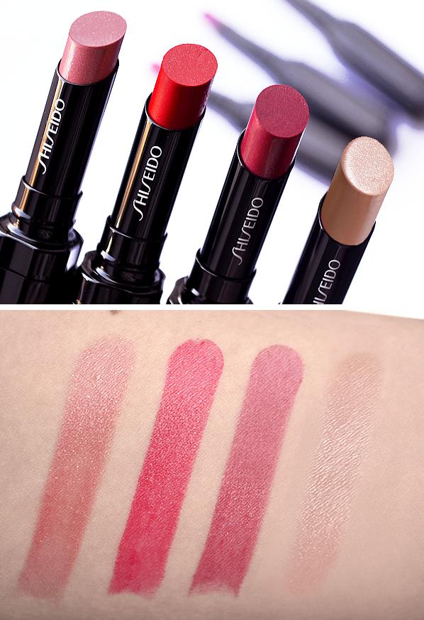 Shiseido Veiled Rouge Lipstick RD302 RD506 RD707 BE301