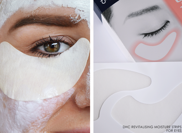 DHC Revitalising Moisture Strips for Eyes