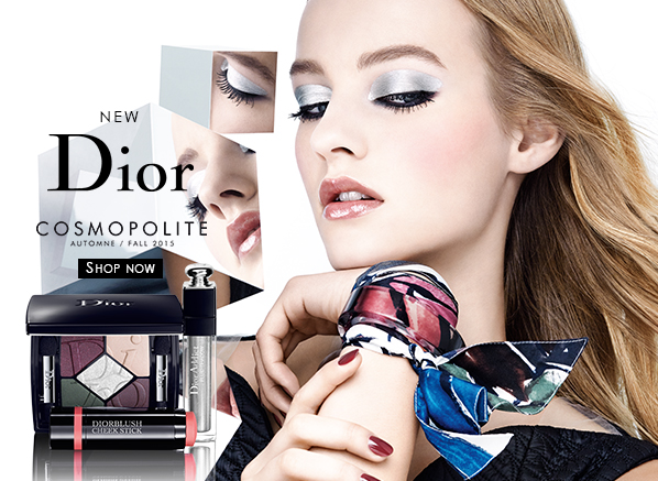 Dior Cosmopolite Autumn Makeup Look