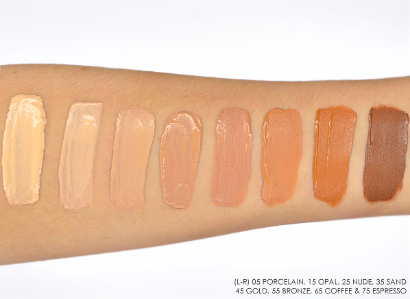 Vichy Dermablend Swatches