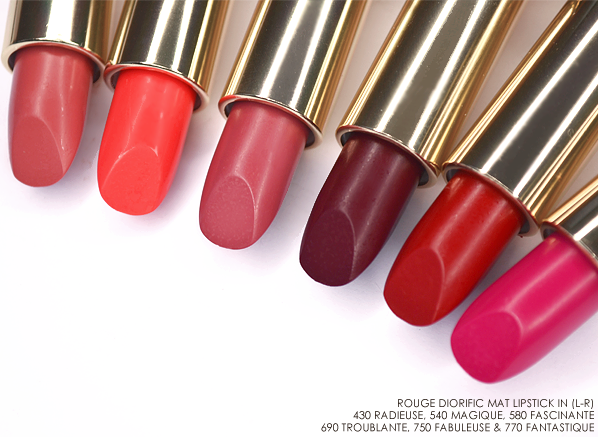 Dior Rouge Diorific Mat Lipstick - State of Gold 2015