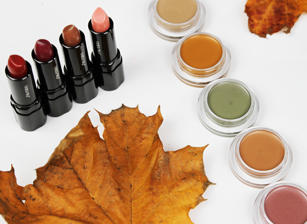 Shiseido Autumn/Winter Makeup Look