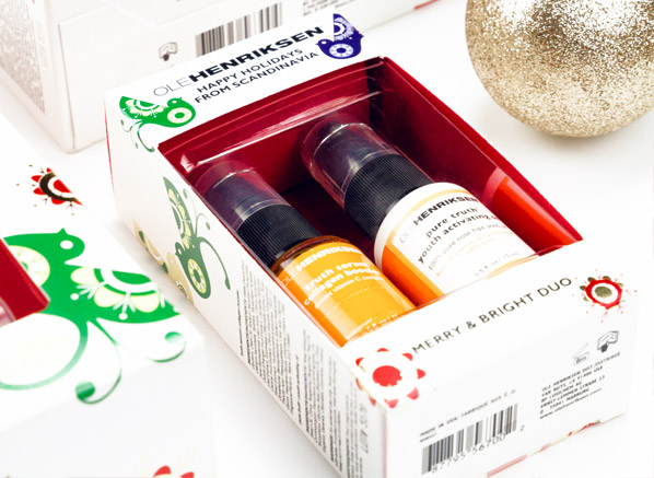 Ole Henriksen Merry and Bright Duo