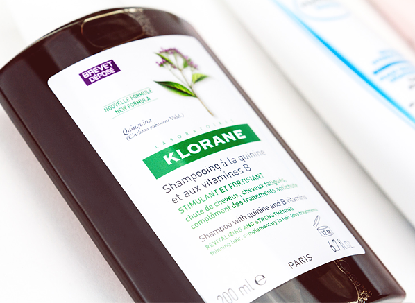 French Pharmacy Icons: Klorane Quinine & B Vitamins Shampoo