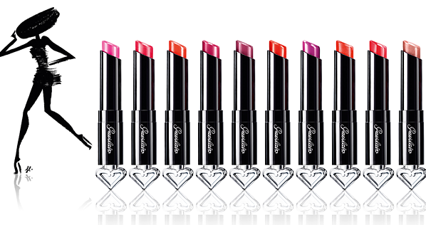 Guerlain La Petite Robe Noire Lipstick Stylised