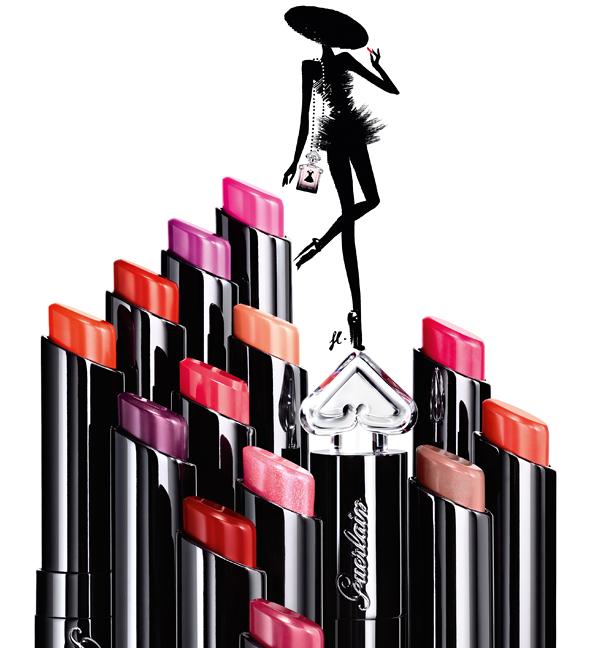 Guerlain La Petite Robe Noire Lipstick Stylised 2