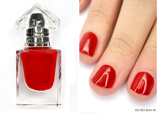 Guerlain La Petite Robe Noire Nail Colour in 022 Red Bow Tie