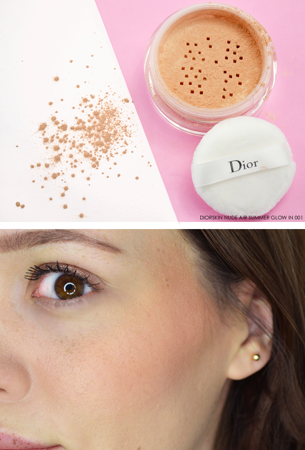 Diorskin Nude Air Summer Glow in 001 - Dior Milky Dots Summer Look