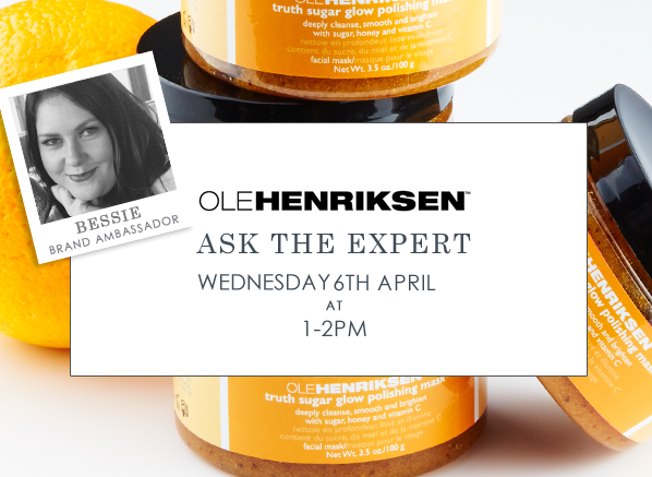 Ole Henriksen Ask The Expert