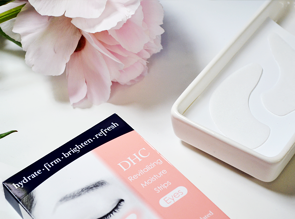 DHC Revitalizing Moisture Strips Eyes - DIY Wedding Facial