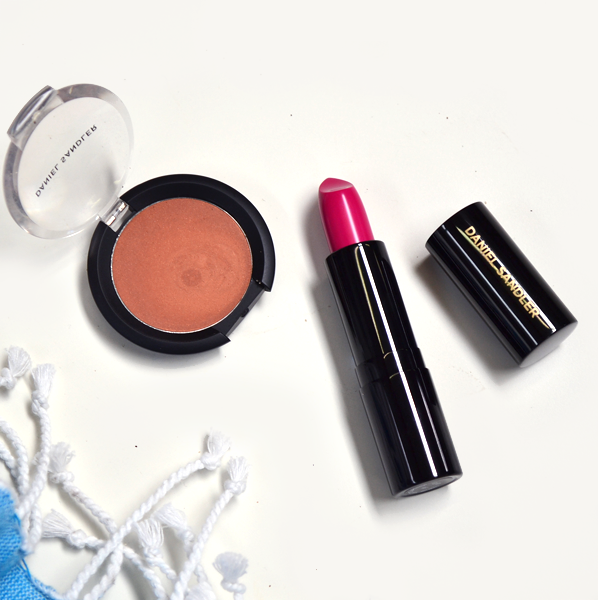 Daniel Sandler Waterproof Creme Bronzer and Daniel Sandler Luxury Matte Lipstick in GiGi - Holiday-Proof Your Makeup