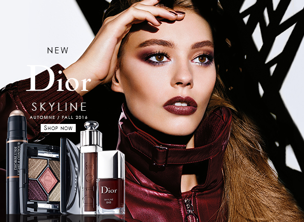 Dior Skyline Autumn Makeup Swatches
