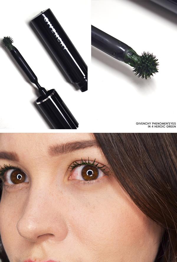 Givenchy Phenomen'Eyes in 4 Heroic Green - Superstellar Makeup Look