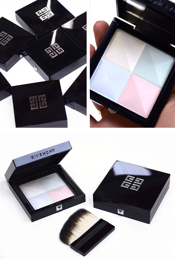 Givenchy Prisme Visage Silky Face Powder Quartet - Closer Look