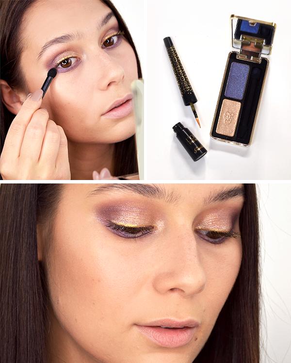 Guerlain Shalimar Christmas Makeup Look 2016 - Eyes