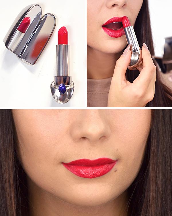 Guerlain Shalimar Christmas Makeup Look 2016 - Lips