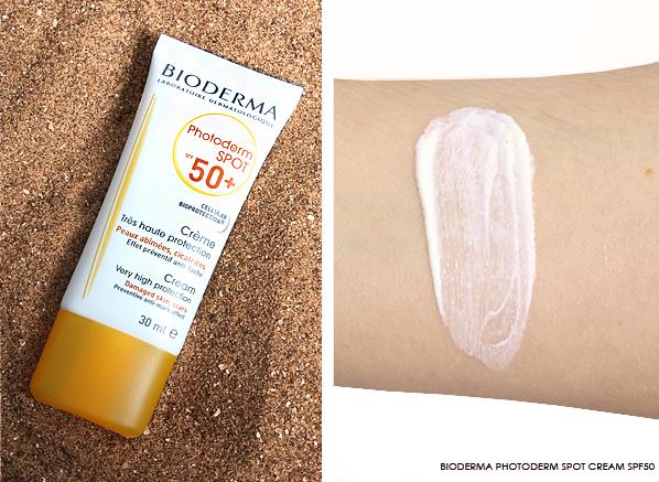 Bioderma Photoderm Spot Cream SPF50+ Product & Swatch