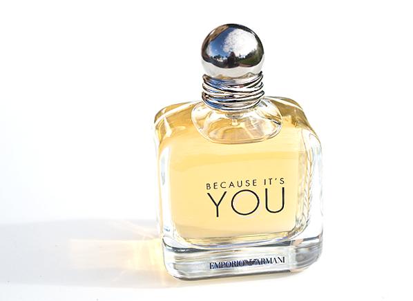 Emporio Armani Because It's You Eau de Parfum Bottle Shot