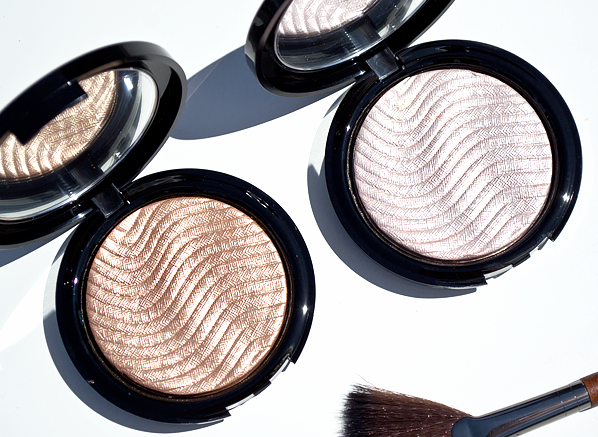 MAKE UP FOR EVER Pro Light Fusion Highlighters in 01 Golden Pink & 02 Golden