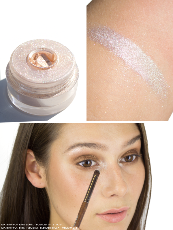 MAKE UP FOR EVER Star Lit Powder in 13 Ivory